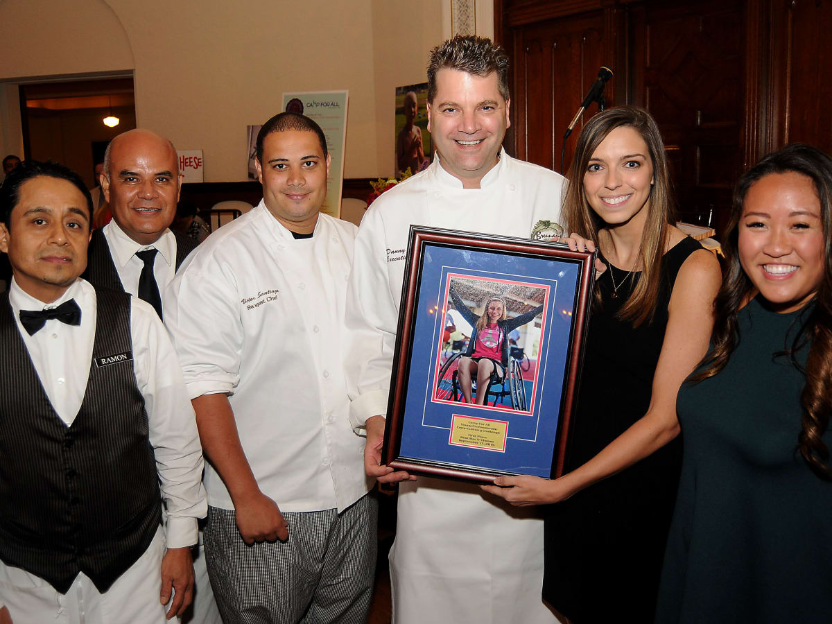 News, Shelby, Camp for All Camp Culinary, Sept. 2015, Ramon Nojka, William Rosales, Victor Santiago, Danny Trace, Misty Taylor, Allison