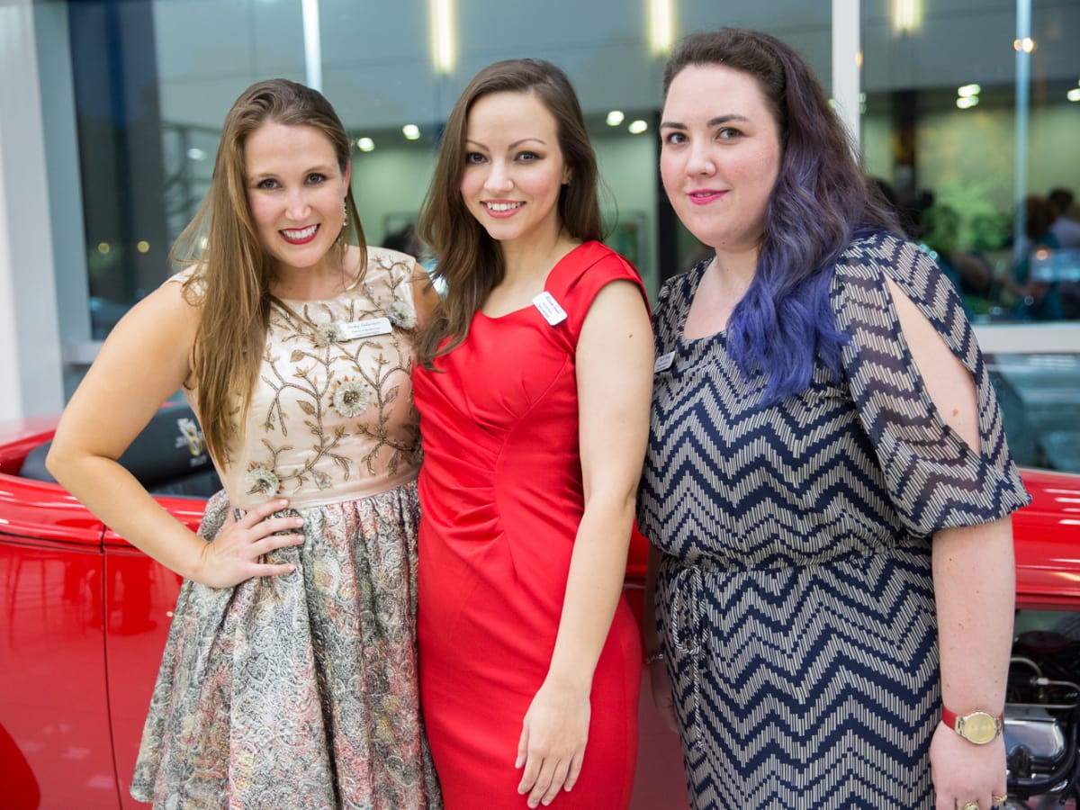 Opera in the Heights Becky Buturovic, Mariam Khalili and Taylor Twohy