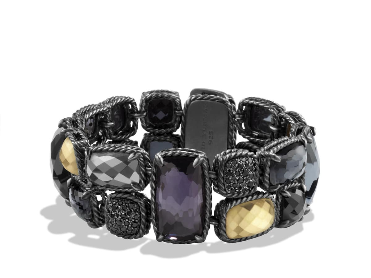 David Yurman Midnight Ice collection bracelet