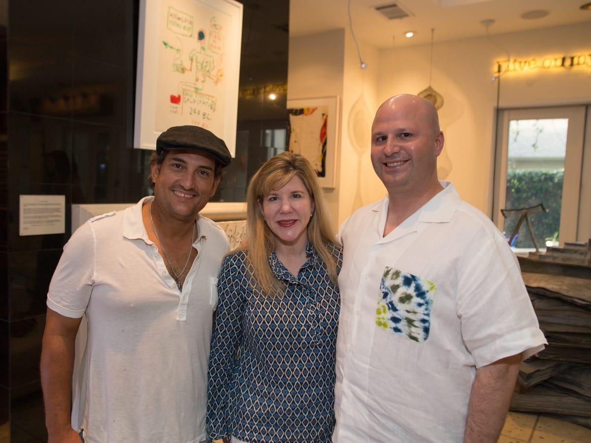 News, Shelby, Fine Art Fair kick-off, Sept. 2015, Alfredo Scaroina, Katherine Yzaguirre, Mark Yzaguirre