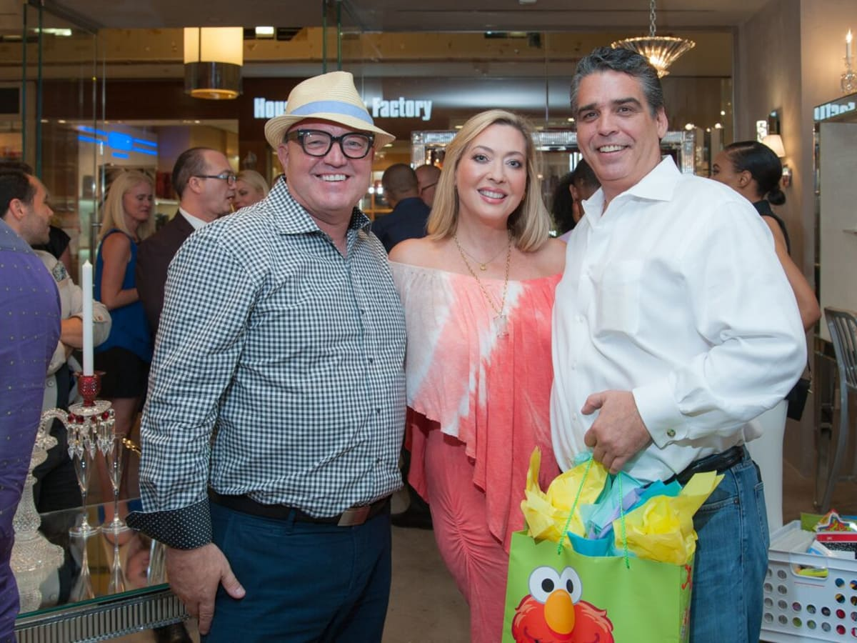 News, Shelby, Alex Martinez Back to School event, Aug. 2015, David Arpin, Lily Paxon-Salinas, Enrique Salinas