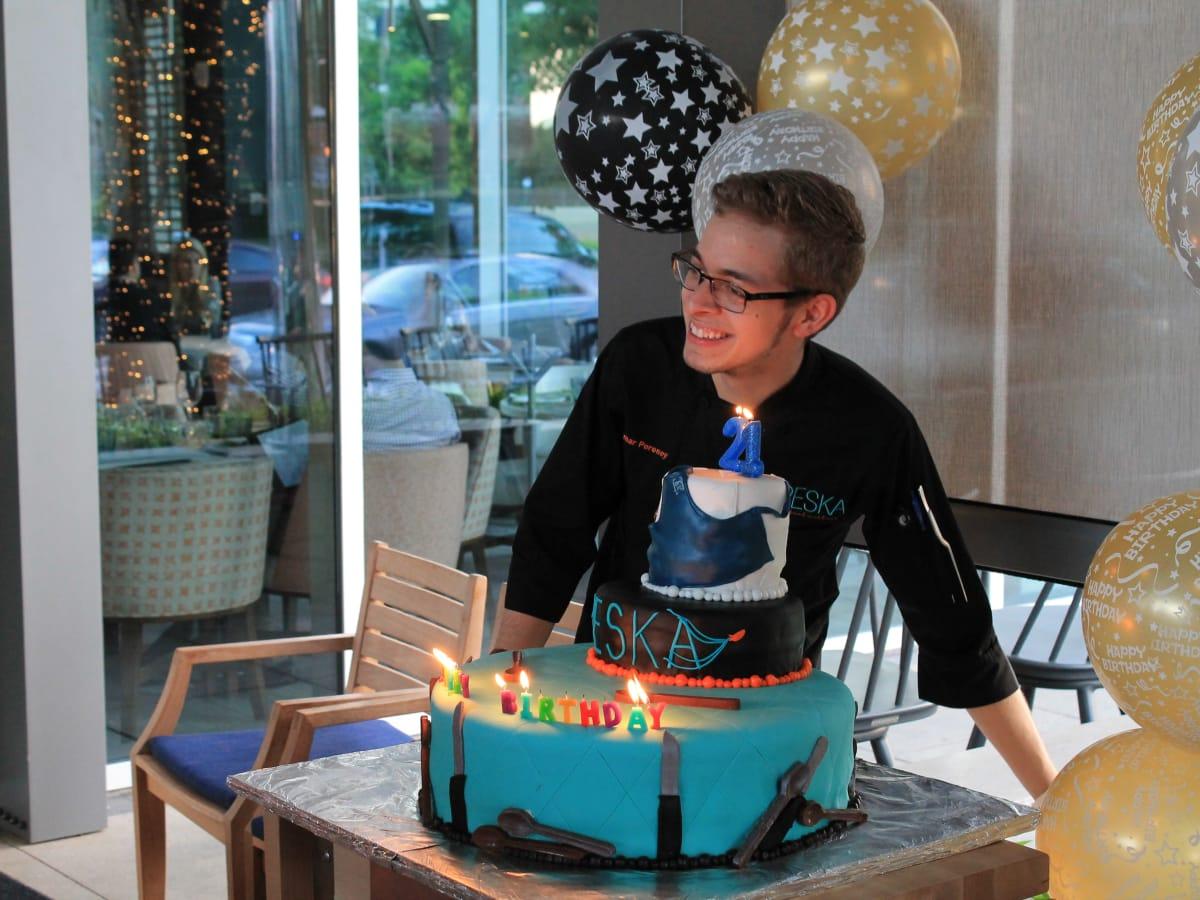 News, Shelby, Omar Pereny's 21st birthday, July 2015, Omar Pereney