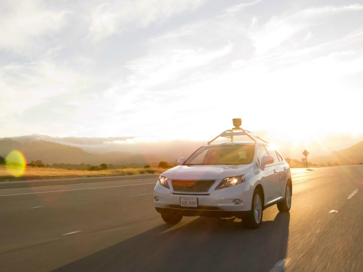 Google Self-Driving Car Project Lexus RX 450h 2015