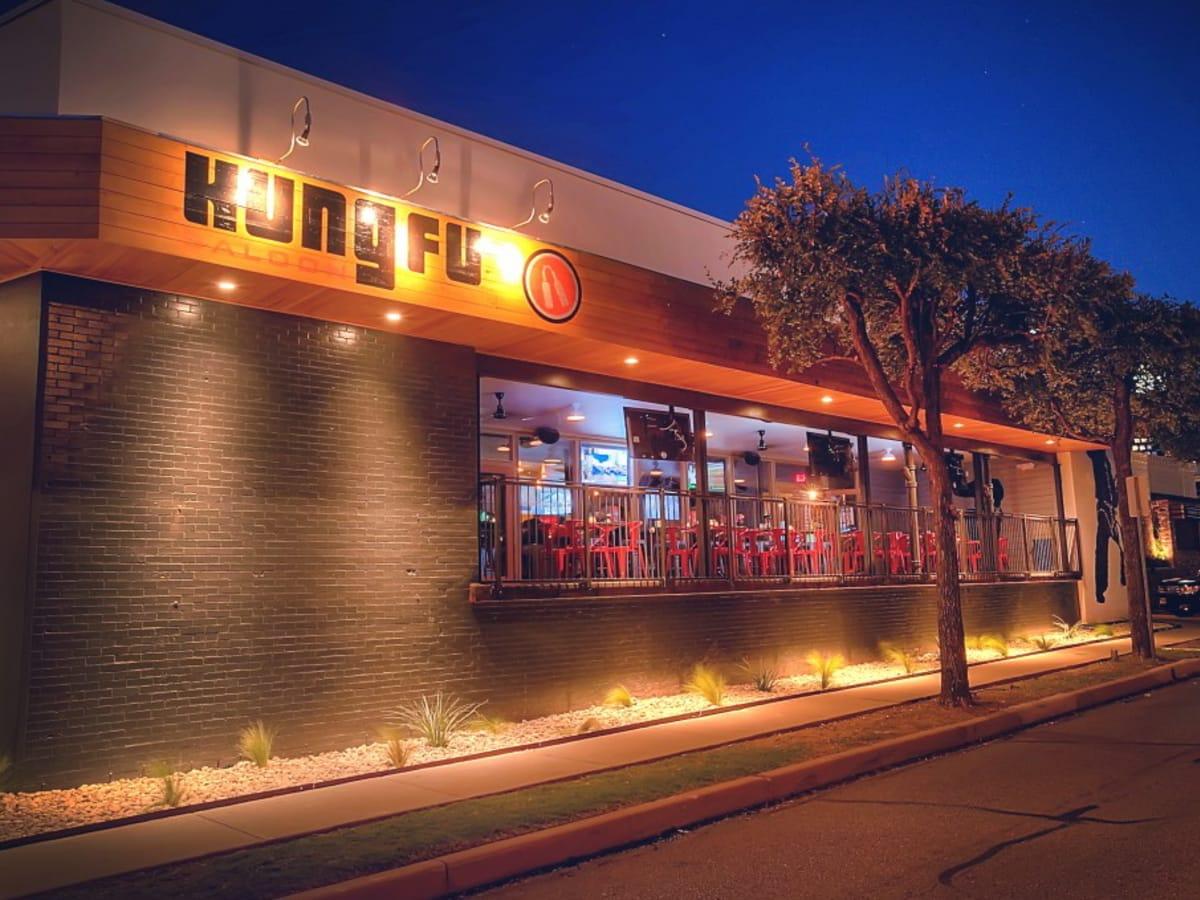 Kung Fu Saloon exterior Dallas crop