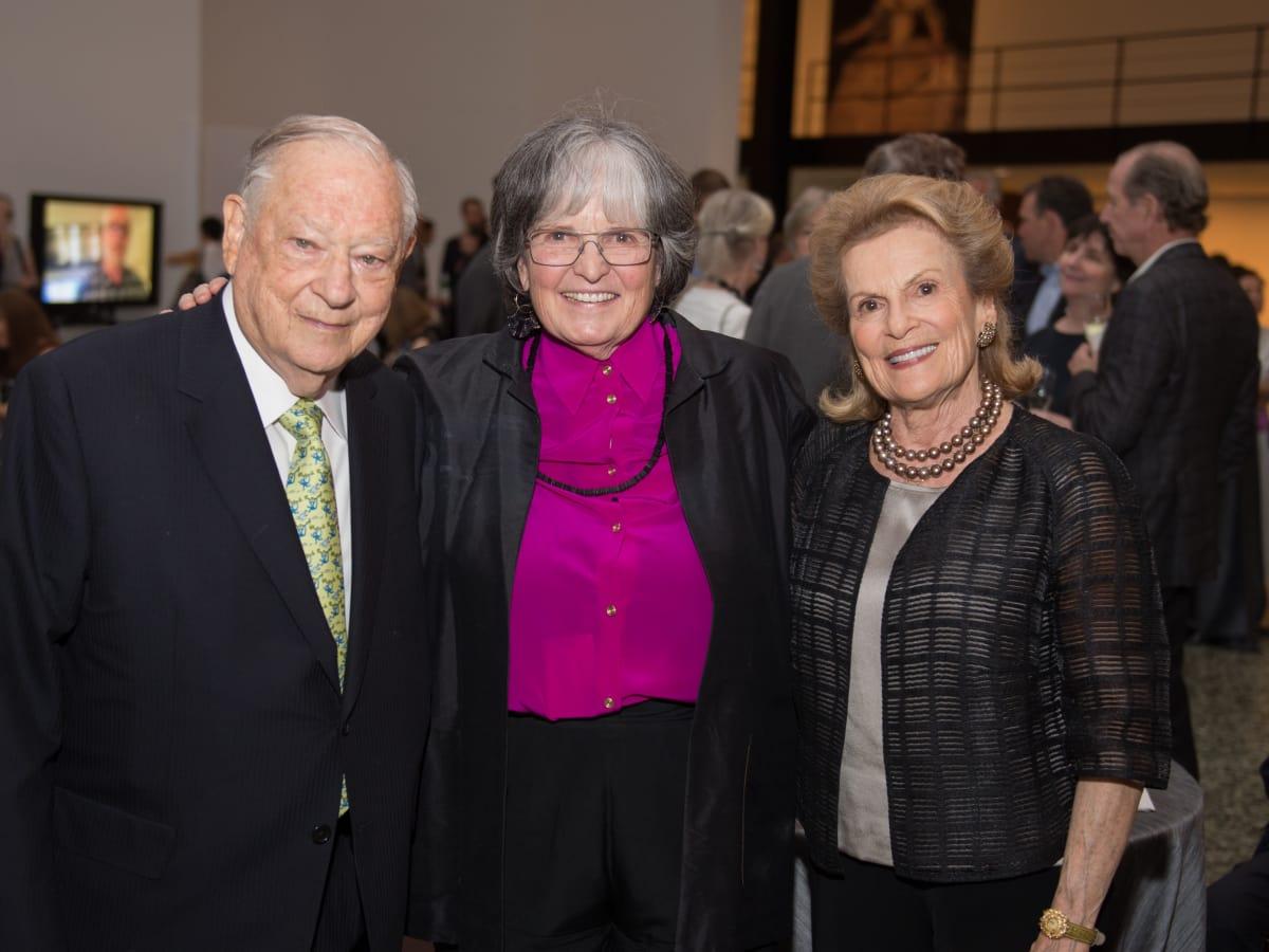 Stanford Alexander, Anne Wilkes Tucker, Joan Alexander at Museum of Fine Arts