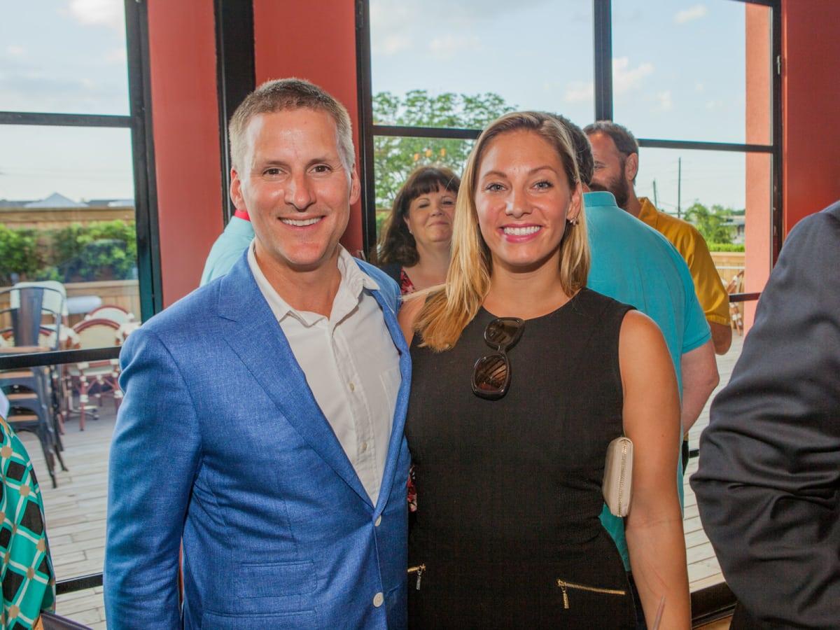 Houston, Pastorini party, June 2015, Christian Boehm, Jaelyn Thurner