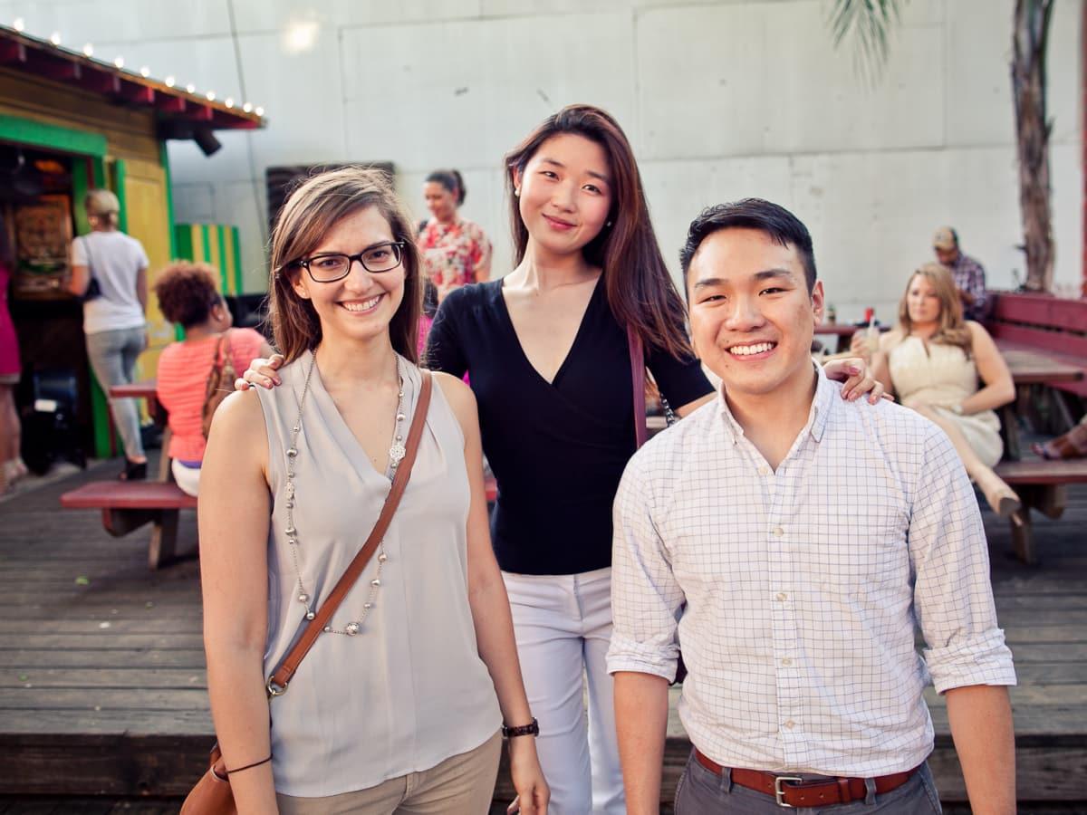 Houston, CultureMap Social, June 2015, Stephanie Marten-Ellis, Mayleen Lee, Andy H