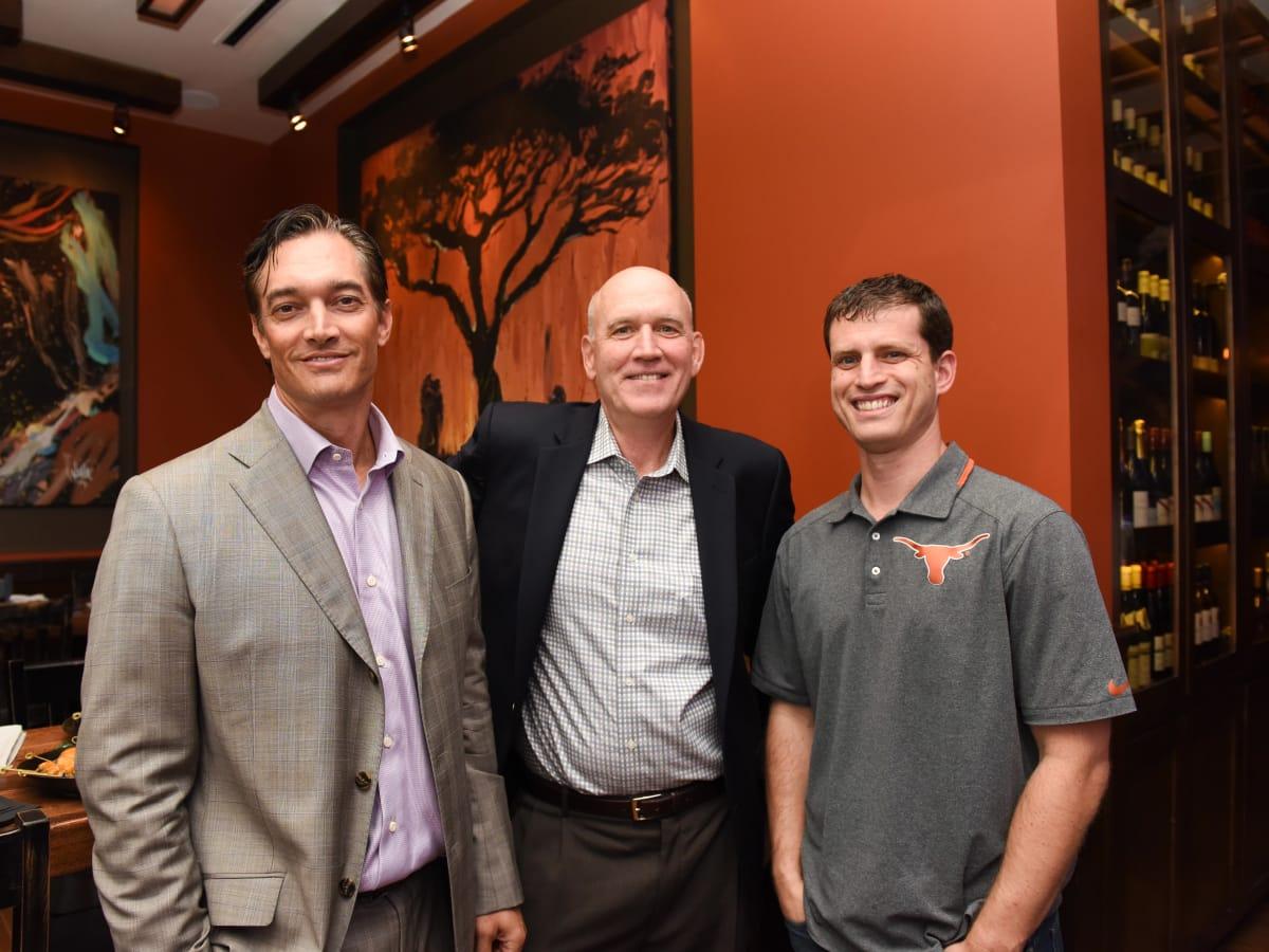 Houston, George Springer Bowling Benefit Kick Off, June 2015, Jim Colasanto, Ed Brown, Tony Sullivan