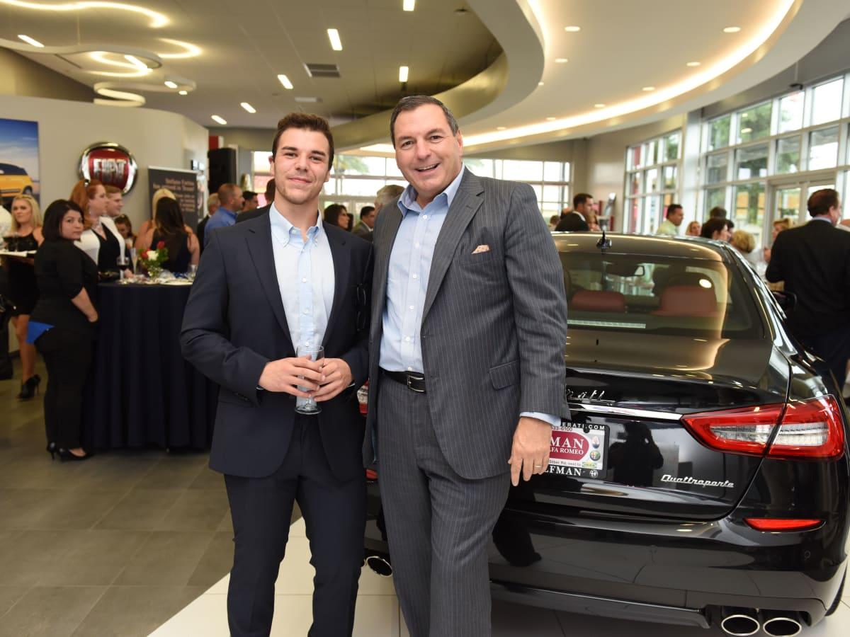 News, Shelby, Helfman Maserati opening, June 2015, Daniel Di Gregorio, Tracy Dieterich