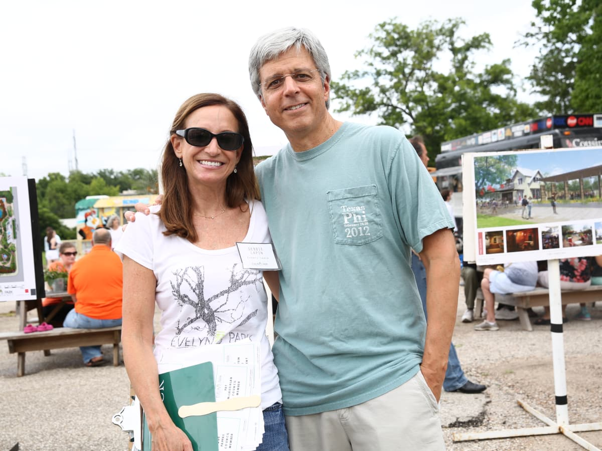 News, Shelby, Evelyn's Park groundbreaking, June 2015, Debbie Lapin, Stephen Lapin