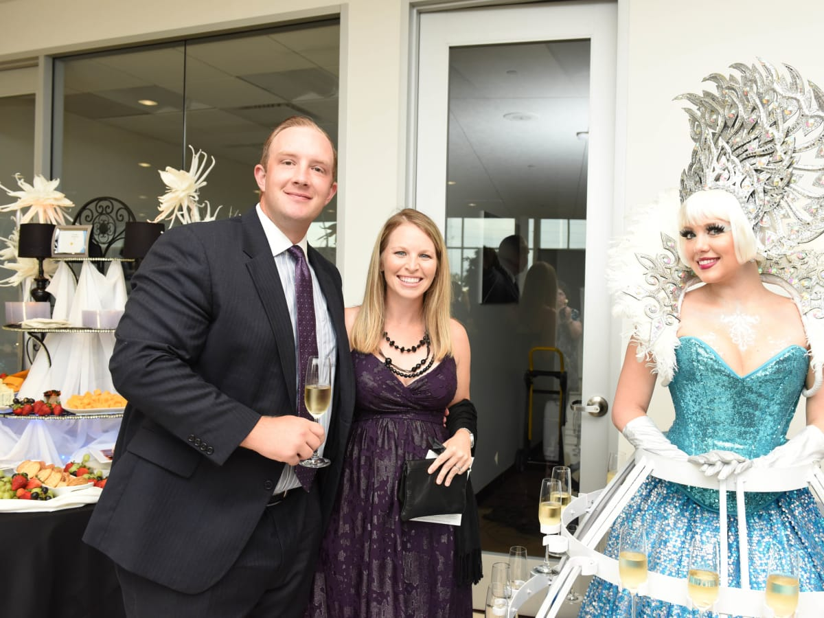News, Shelby, BMW West grand opening, Ludwig Willisch, BMW of North America PresidentJune 2015, Kyle James, Amy McCully.