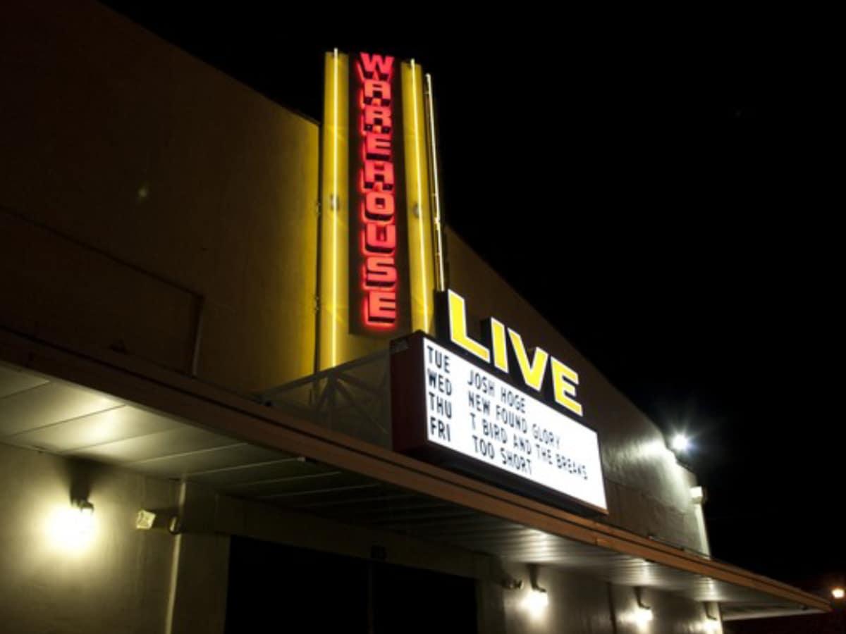 Warehouse Live exterior place