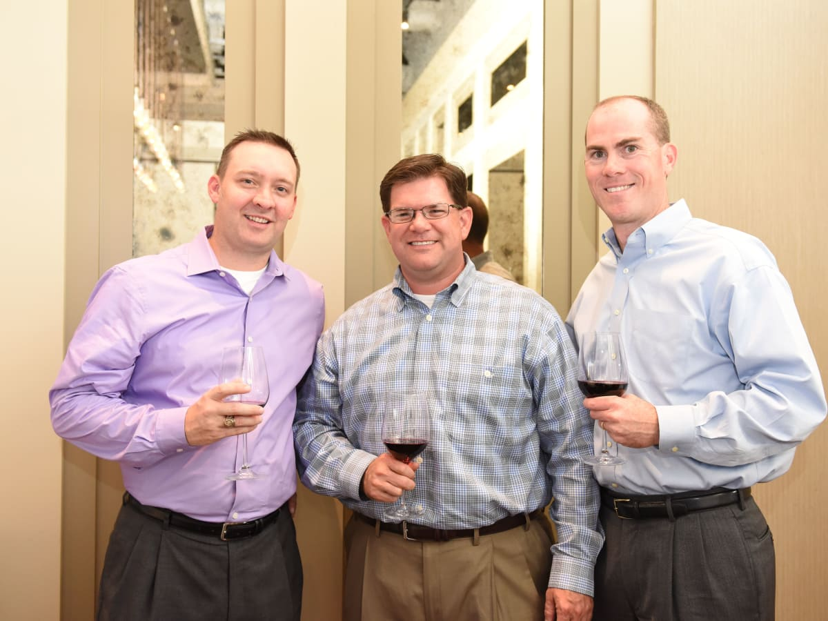News, Roger Clemens at Vallone's, June 2015, Jeff Abel, Clay Rabel, & Jed Howard