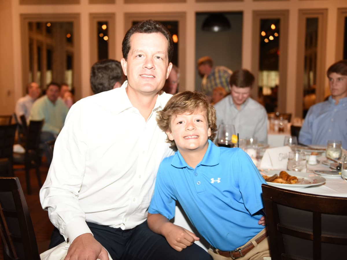 News, Roger Clemens at Vallone's, June 2015, David and Andrew Baay