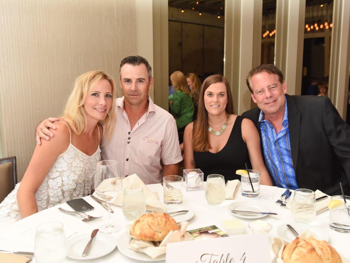 News, Roger Clemens at Vallone's, June 2015,Nikki Simpson, Scott Bean, Mary Pickle, & Richard Fox