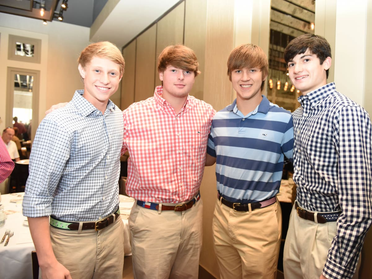 News, Roger Clemens at Vallone's, June 2015, James Kirkpatrick, Phillip Rowe, Grant Nunley, Will Rowe