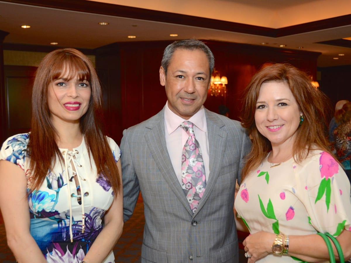 Women's Home Luncheon 2015 Karina Barbieri, Hector Villareal, Donae Chramosta