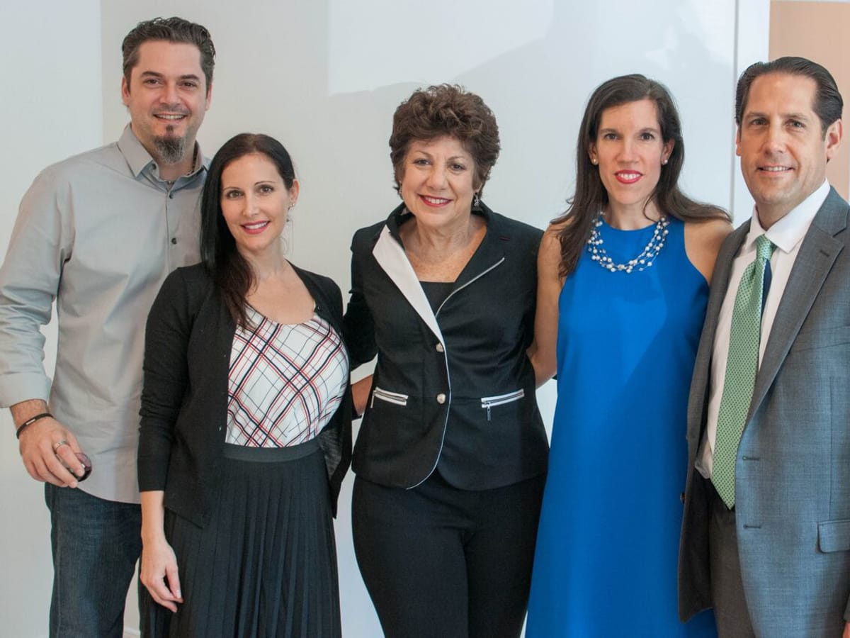Houston, Engel and Völkers Launch Party, June 2015, Kevin Moeder, Maria Sganga, Cindy Gerther, Rosemarie and Ted Stieglitz