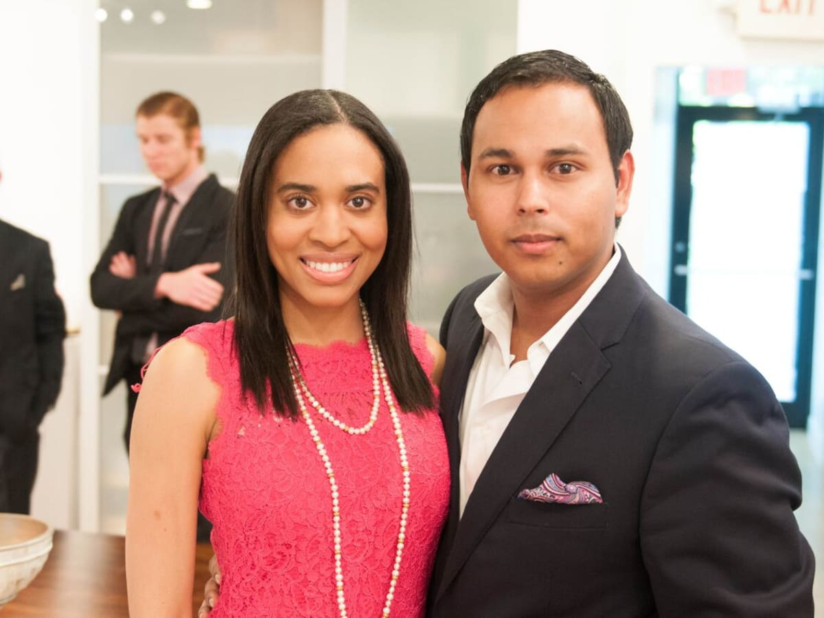 Houston, Engel and Völkers Launch Party, June 2015, Hannah Thibodeaux, Clint Sosa