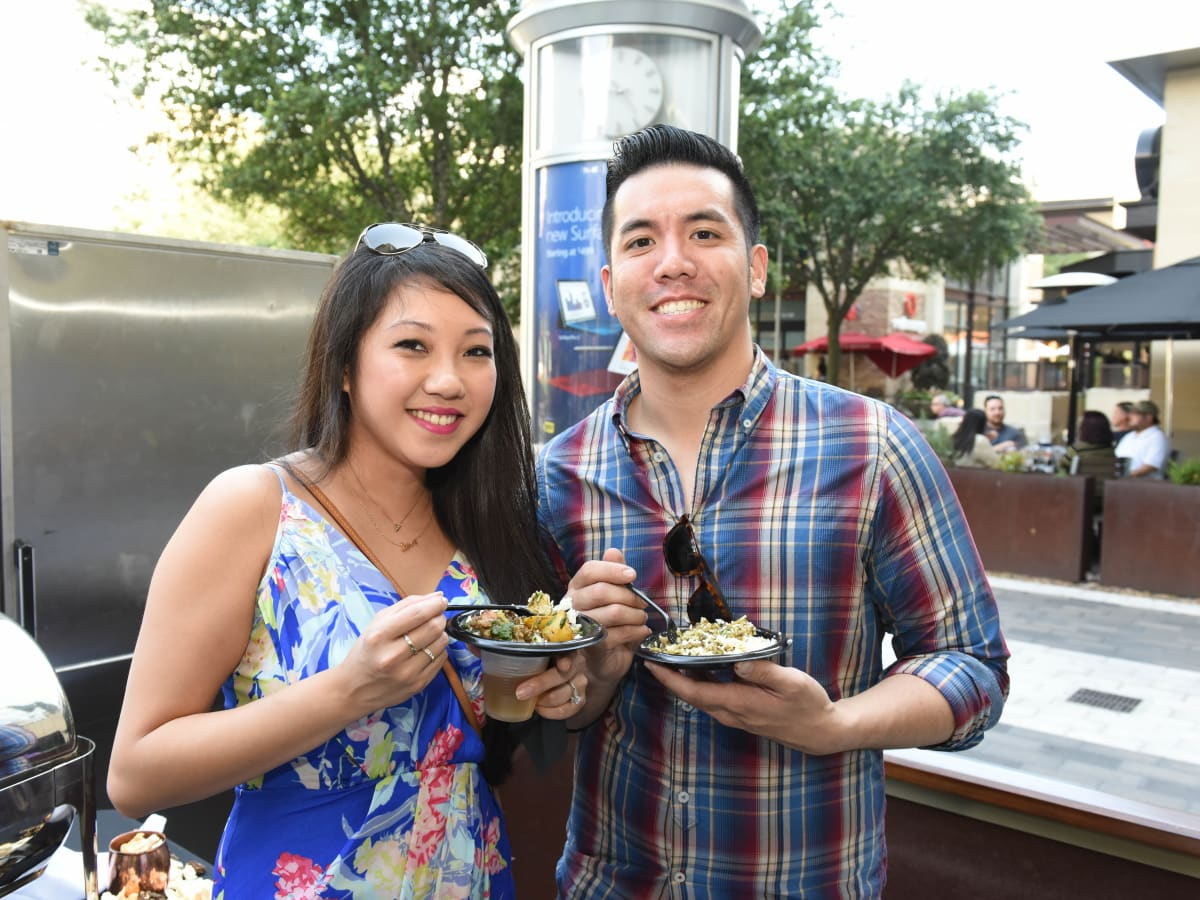 News, Shelby, Curry Crawl, June 2015, Amanda Park, Anthony Tran