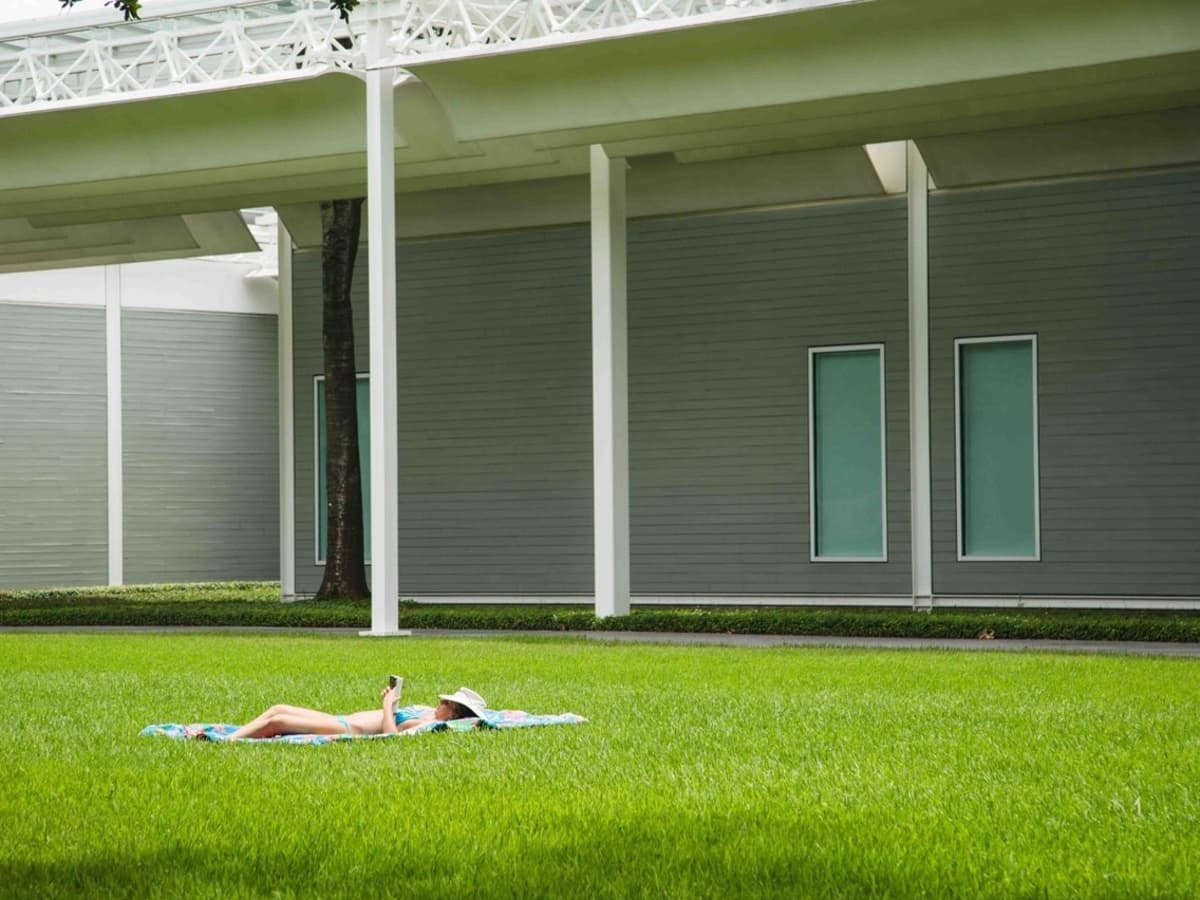 Beyonce Tumblr photo of Menil Collection