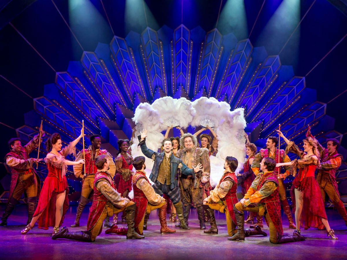 Cast of the Something Rotten! National Tour