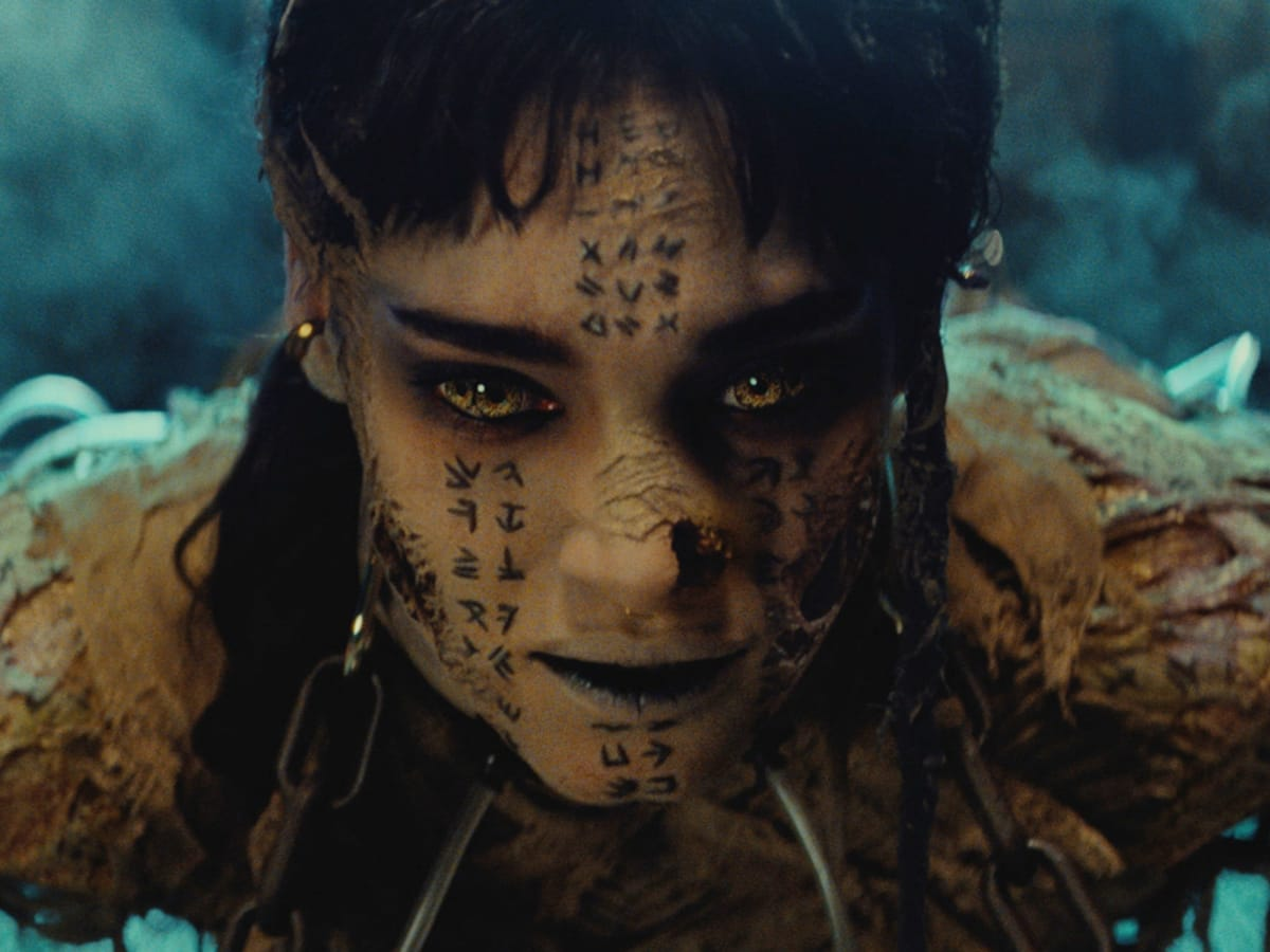 Sofia Boutella in The Mummy