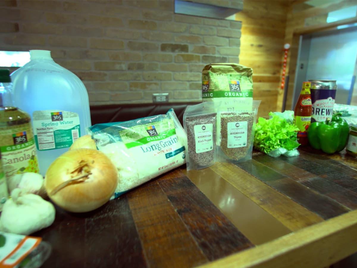 Ingredients for Sabine Pass Gumbo