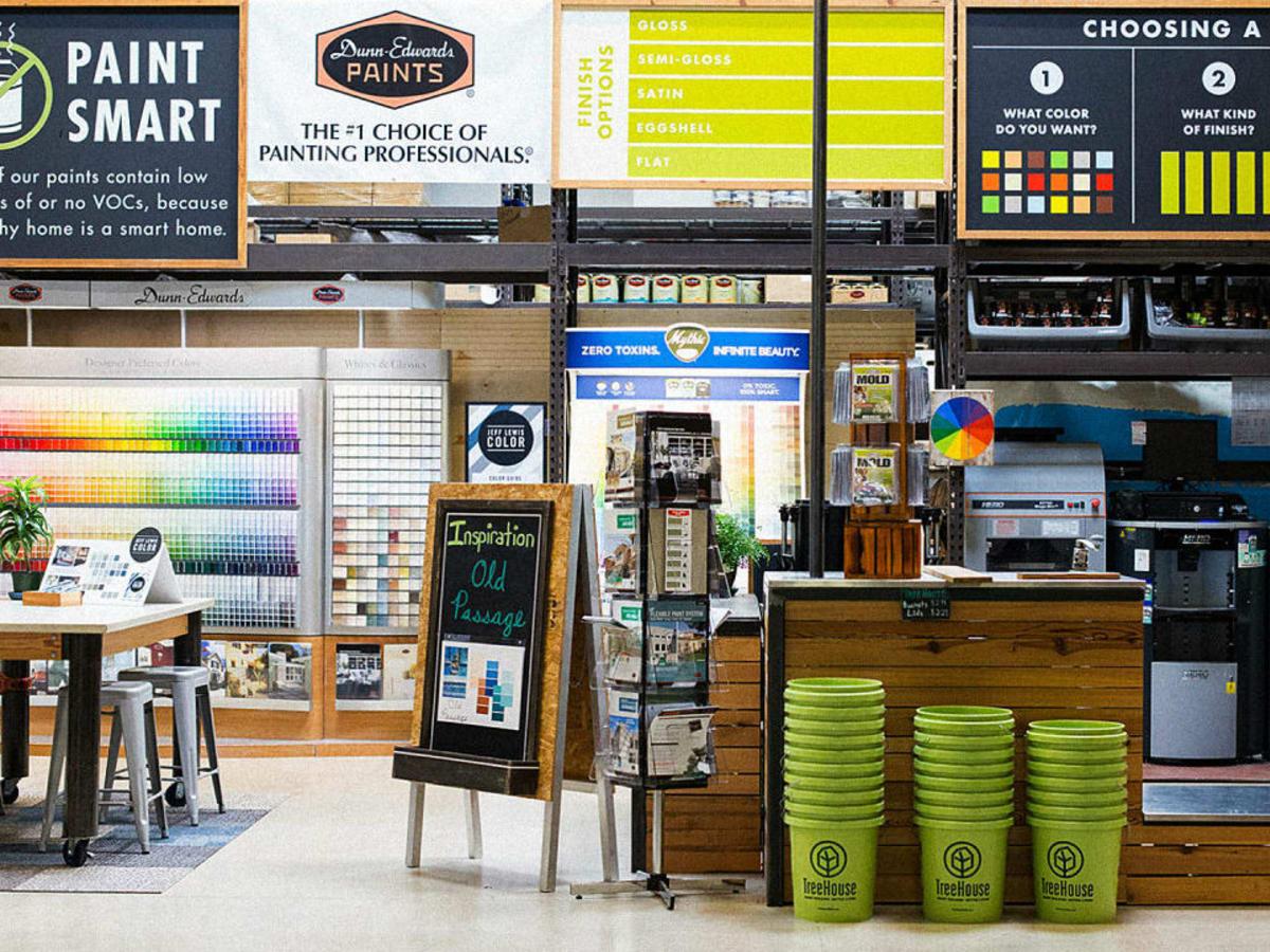 TreeHouse Austin paint center