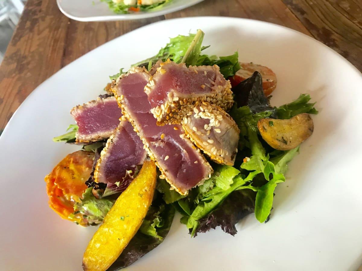 Field and Tides tuna salad