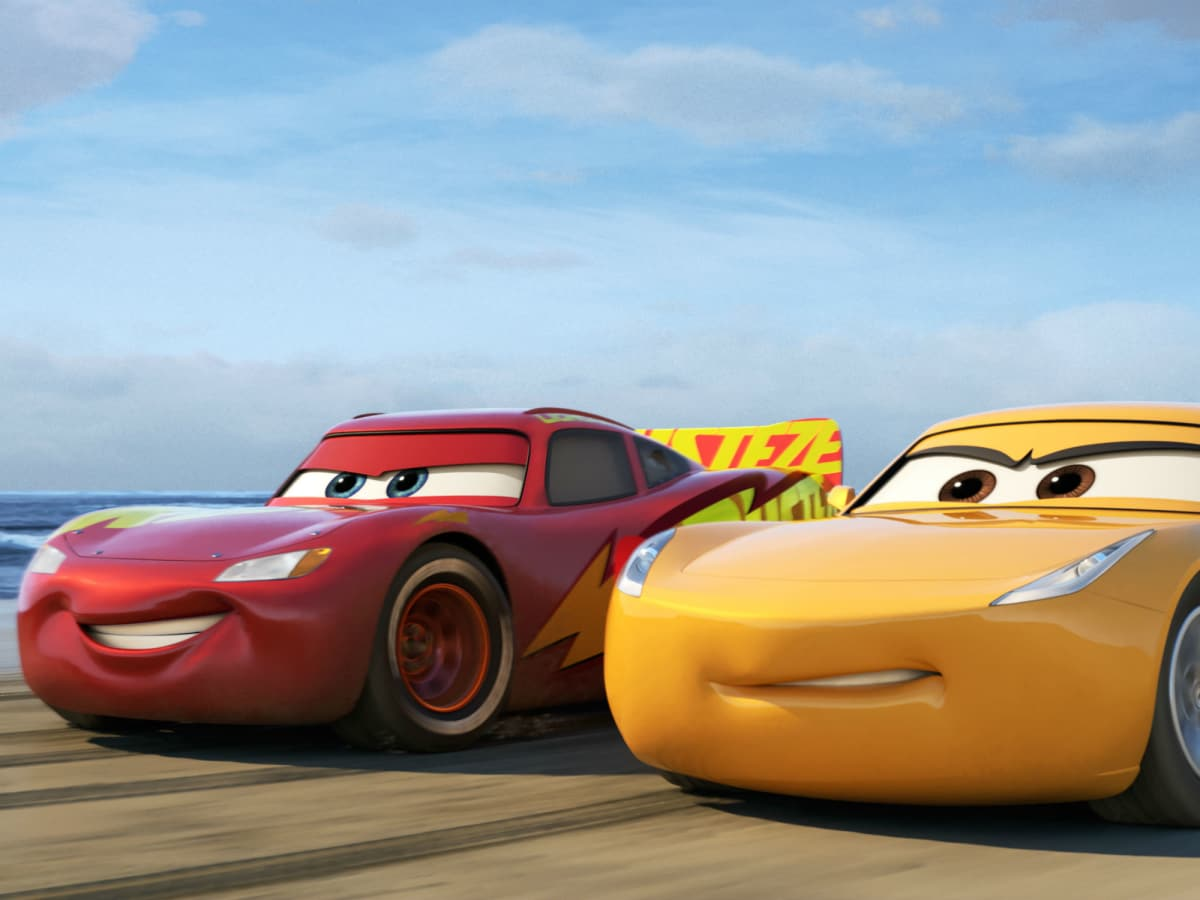 Lightning McQueen and Cruz Ramirez in Cars 3