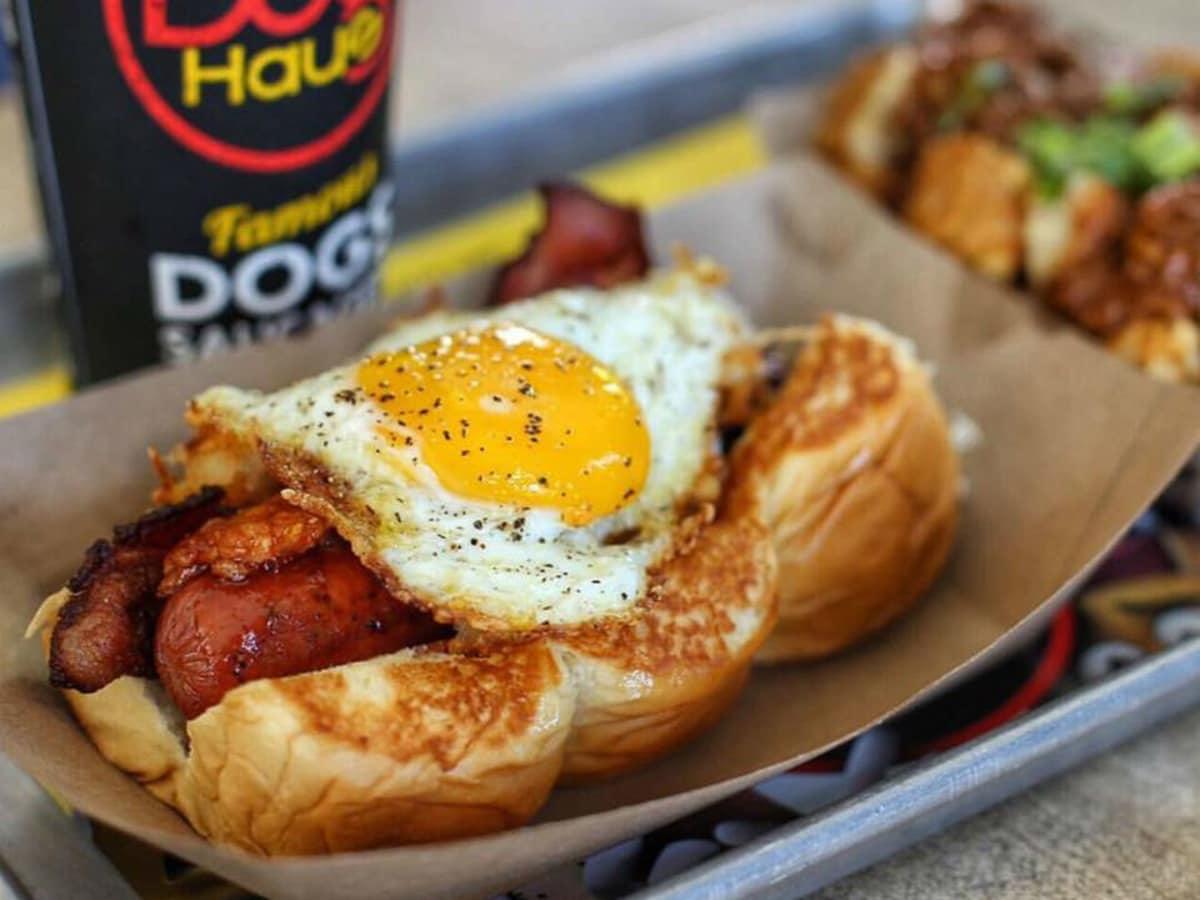 Dog Haus hot dog