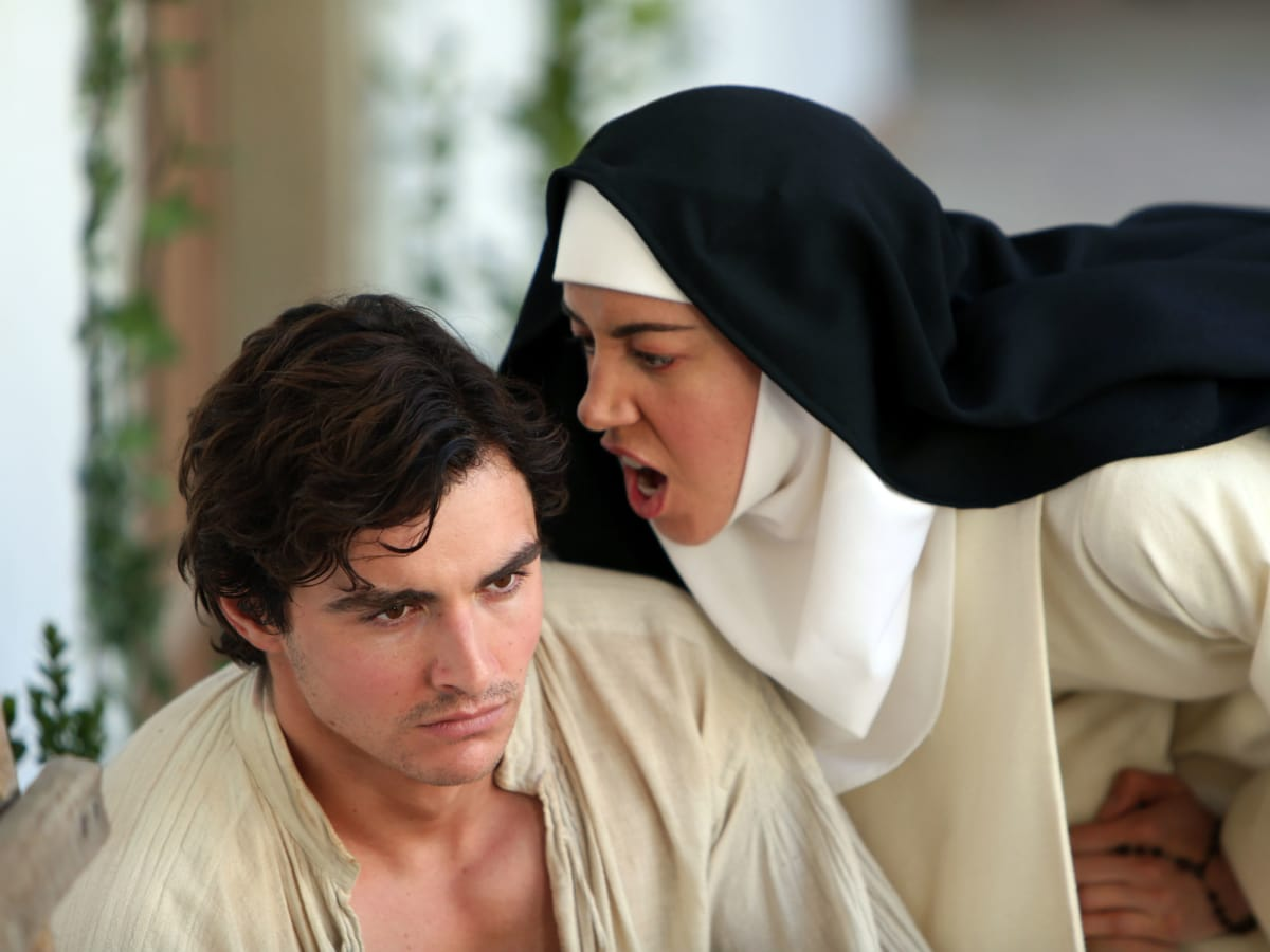 Dave Franco and Aubrey Plaza in The Little Hours
