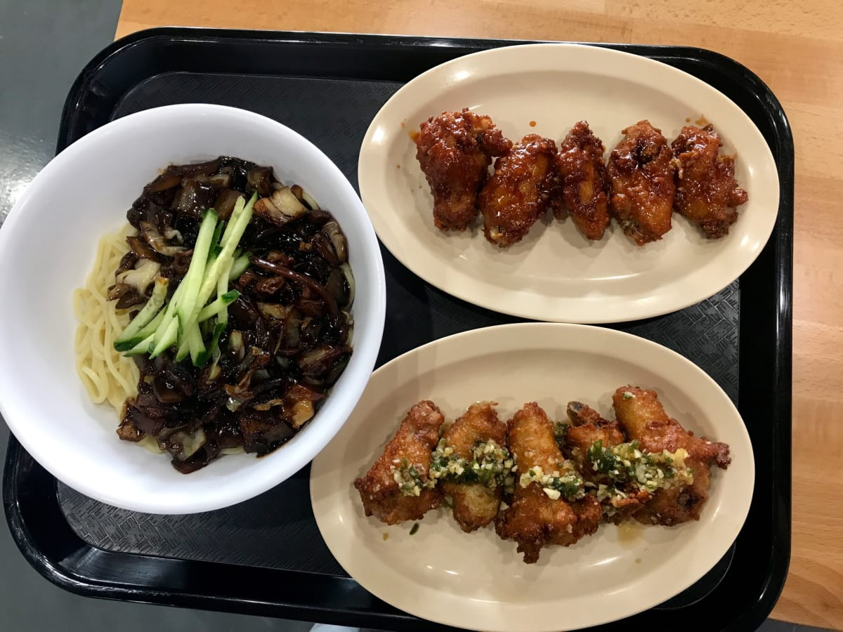 Paik's noodle and wings