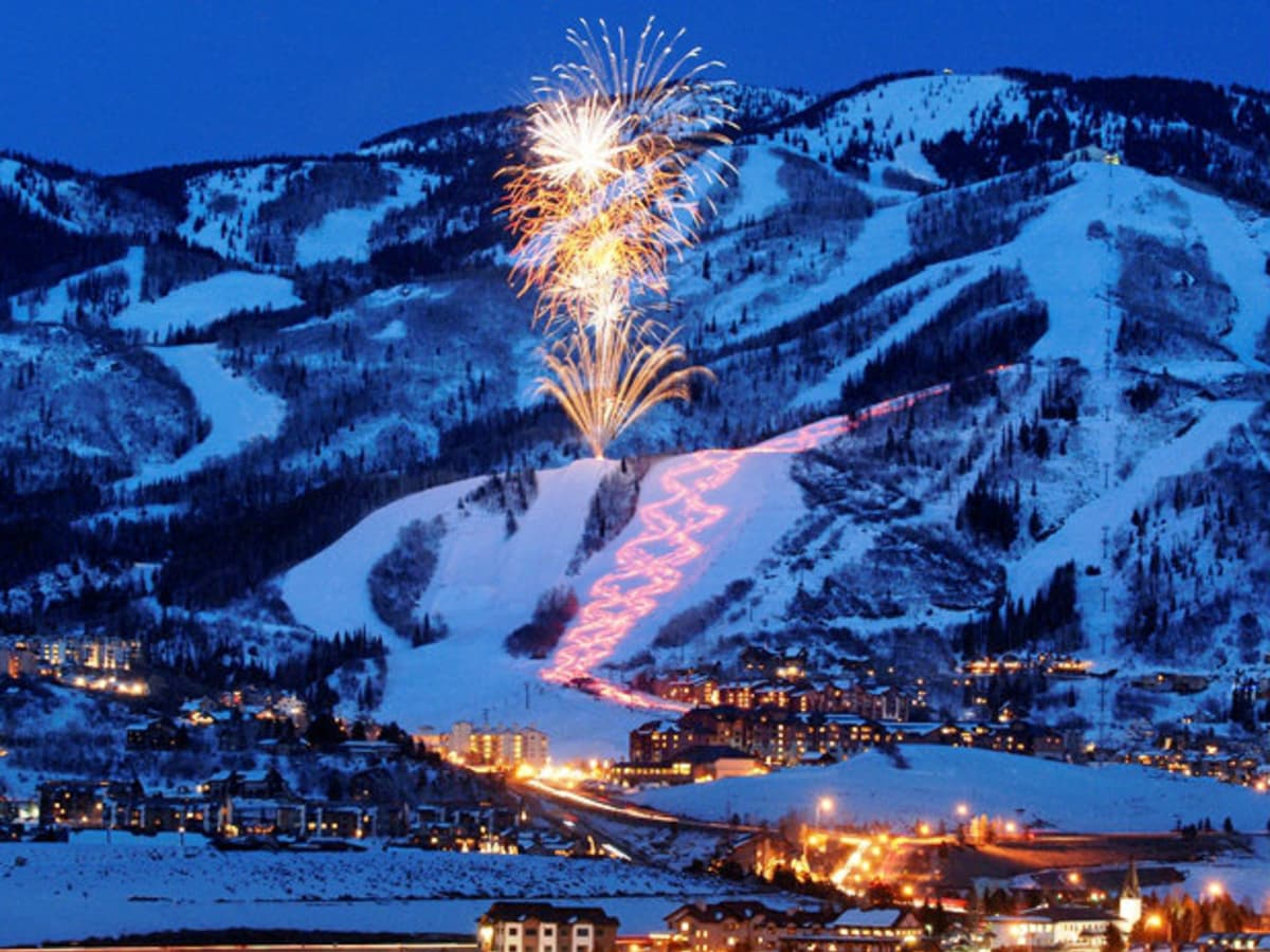 Steamboat, Colorado, fireworks