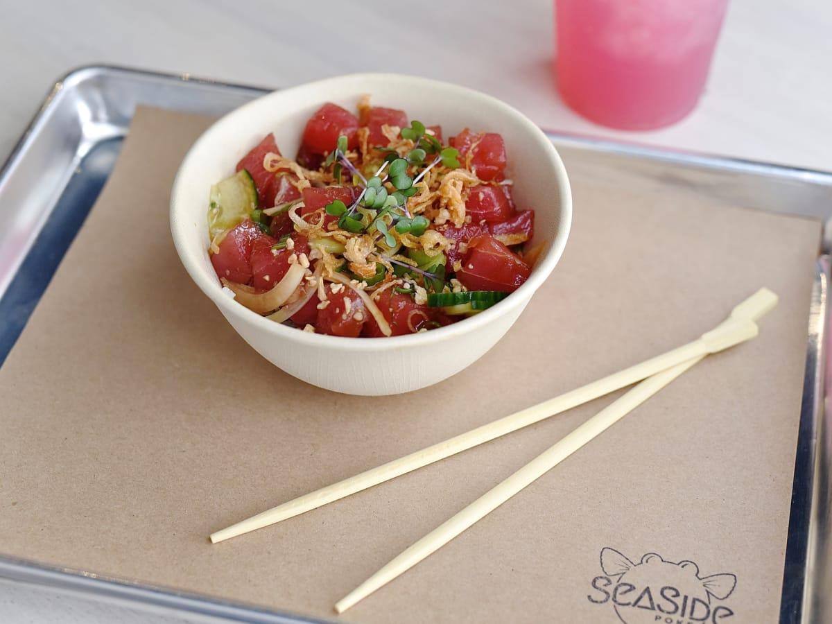 SeaSide Poke classic tuna