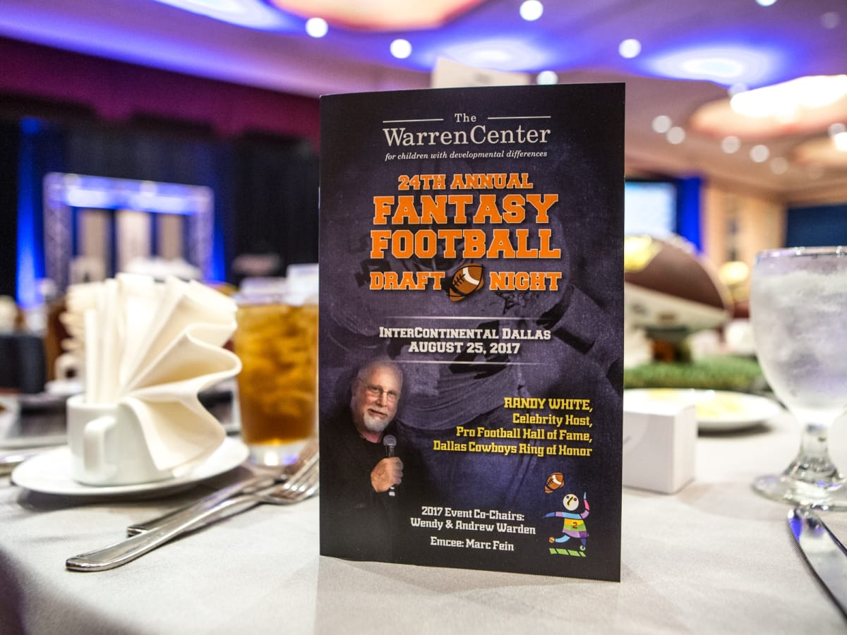 The Warren Center Fantasy Football Draft Night 2017