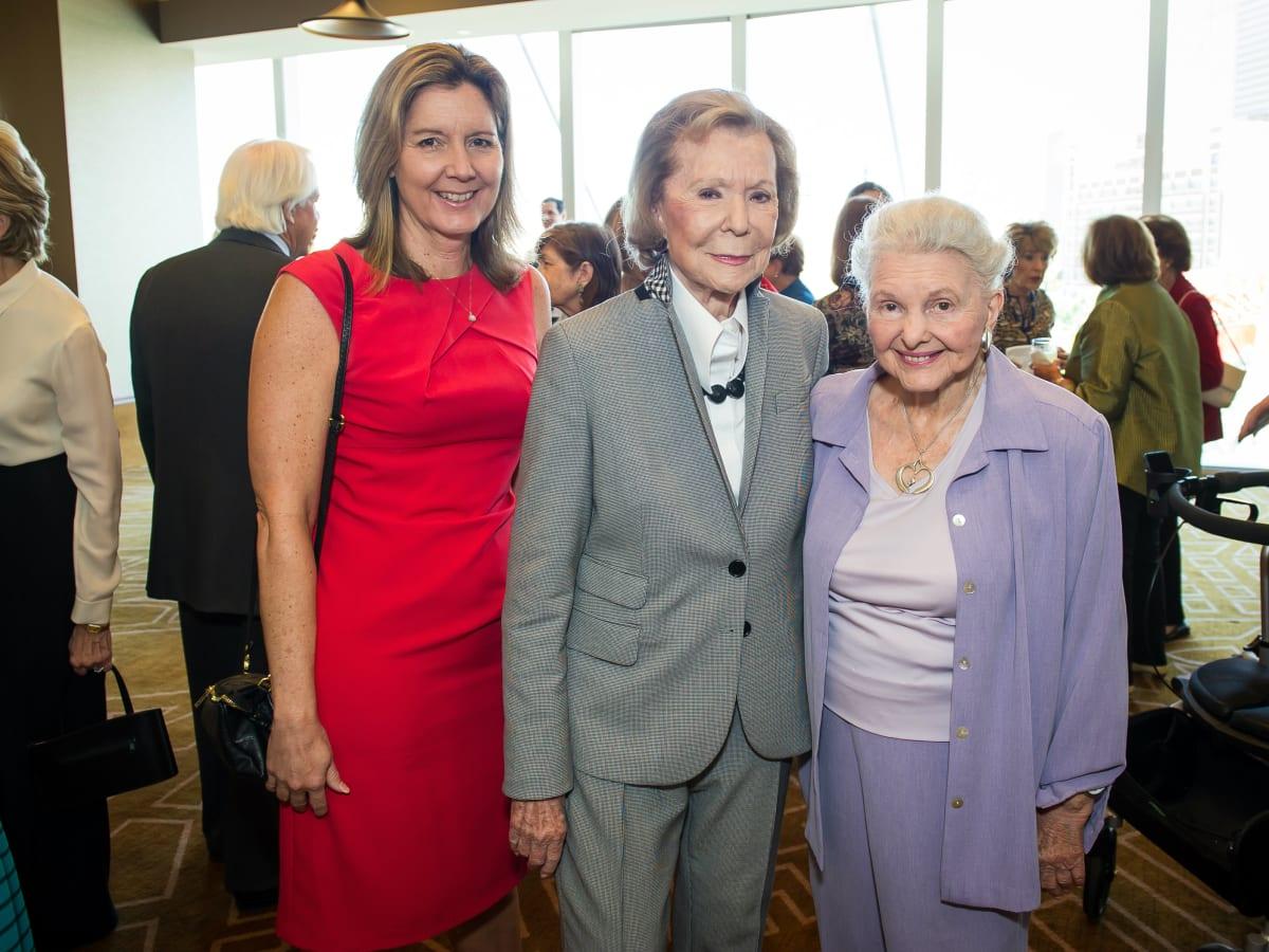 Lynn Mahurin, Ruth Sharp Altshuler, Caroline Rose Hunt