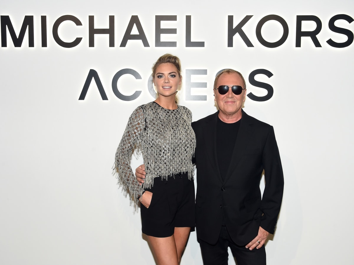 Kate Upton, Michael Kors at Access Smartwatch party New York Fashion Week