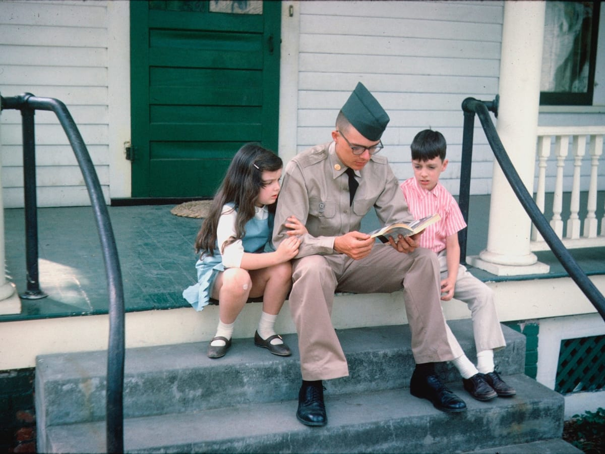 The Vietnam War, PBS series, serviceman and family