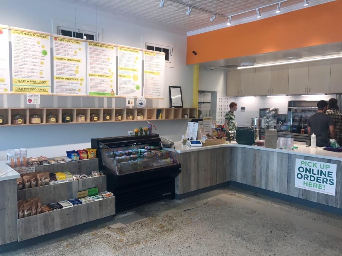 Juiceland Montrose interior