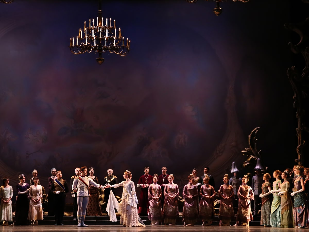 Mayerling artists of Houston Ballet