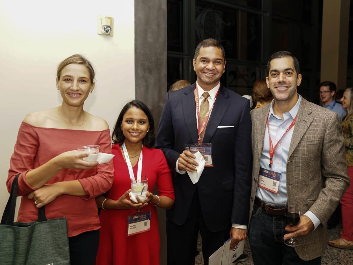 Texas Tribune Festival 2017 VIP Party at Harry Ranson Center Anya Bidwell Kavitha Bondada Vikrant Reddy Arif Panju