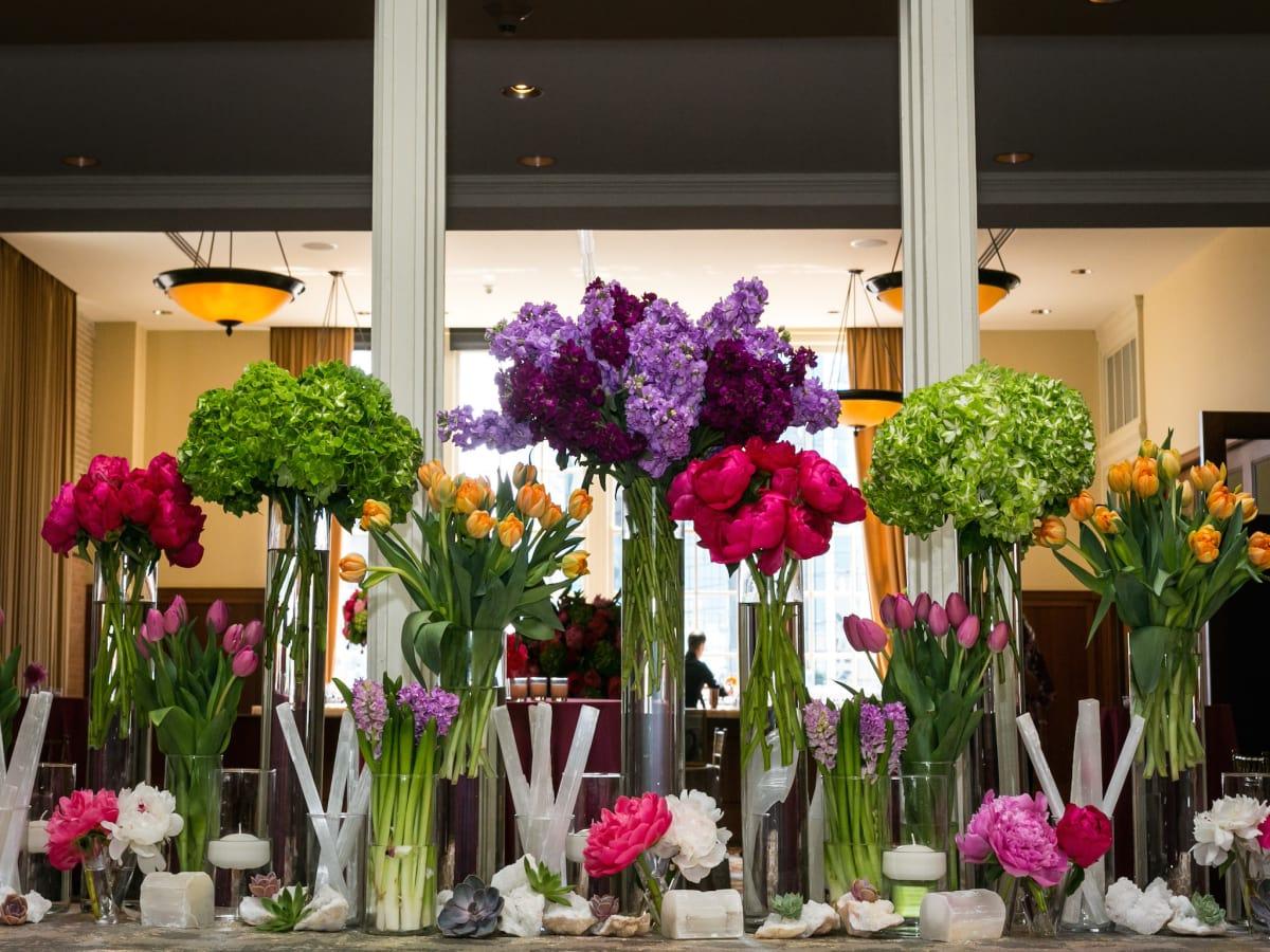 Monica Kitt Wedding, Florals