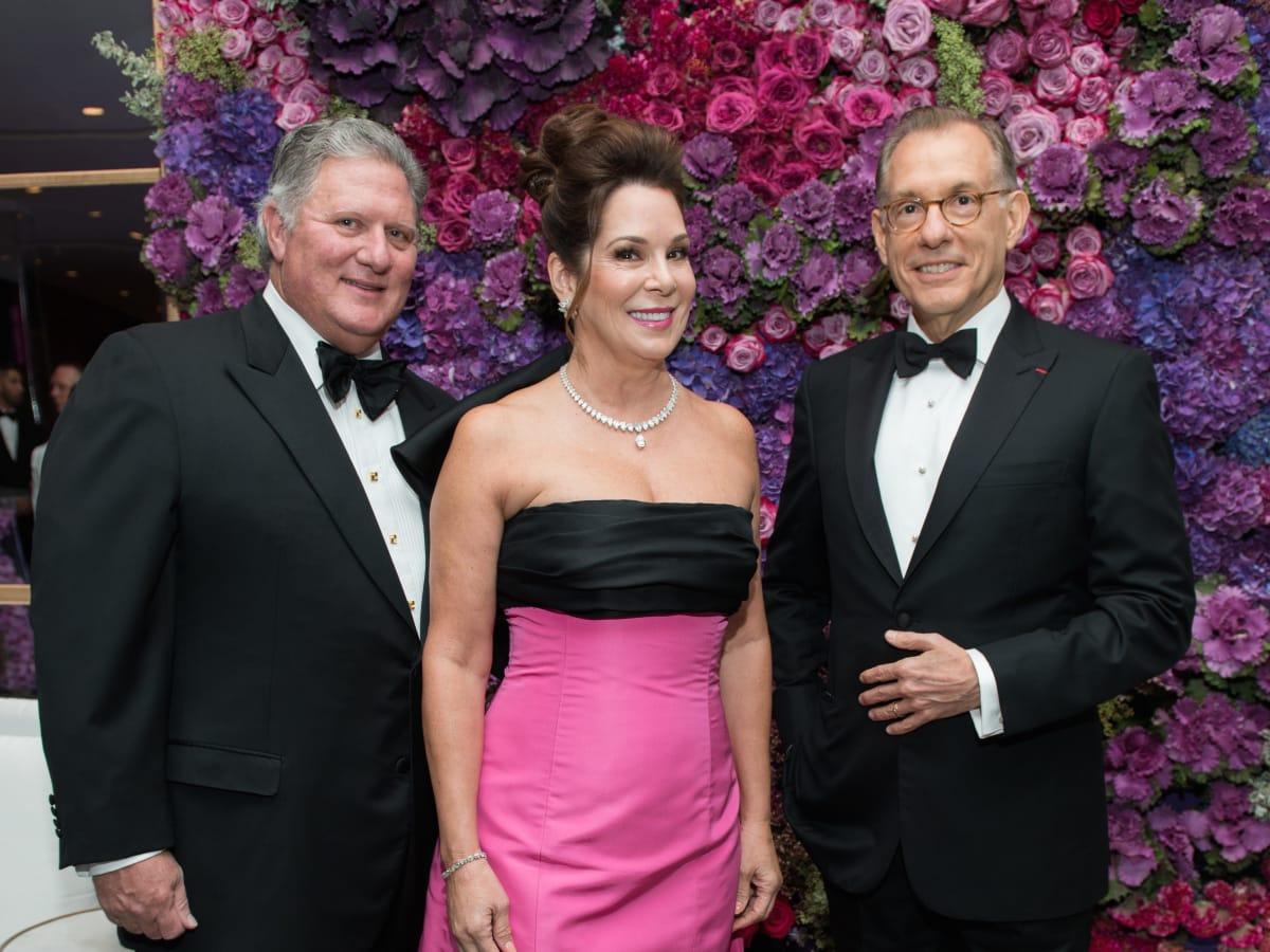 Jim Flores, Cherri Flores, Gary Tinterow at MFAH Grand Gala Ball