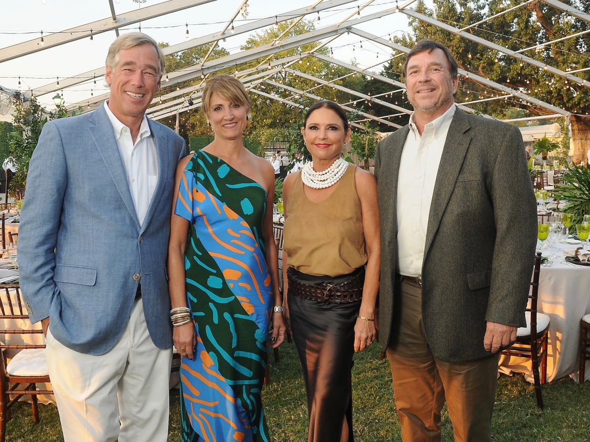 Chairs Rick Jenner, Jean Jenner, Mary Jane Gallagher at Nature Consevancy Gala