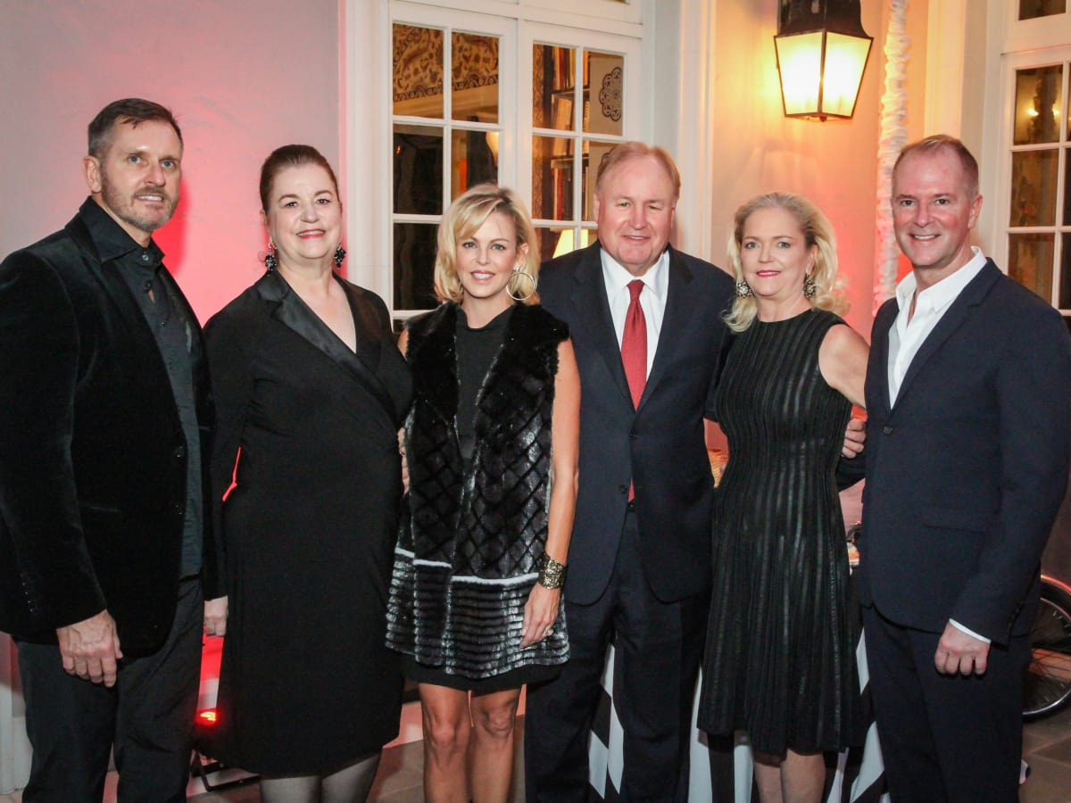 Legacy Cocktail Party, Marcus Sloan, Katy Caldwell, Elizabeth Petersen, Gary Petersen, Chree Boydstun, Shannon Hall