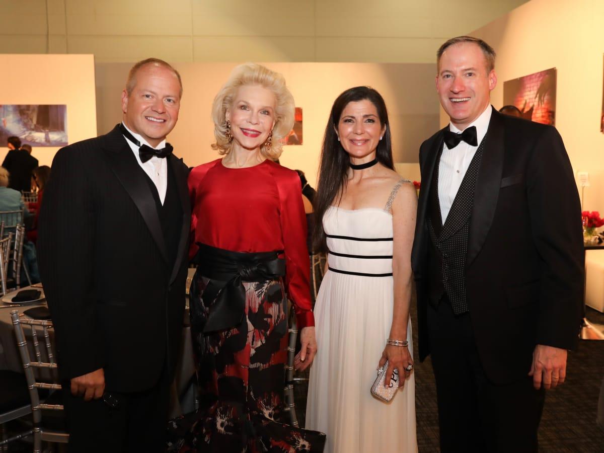 Houston Grand Opera opening night 2017, Patrick Summers, Lynn Wyatt, Cynthia Petrello, Beau Miller
