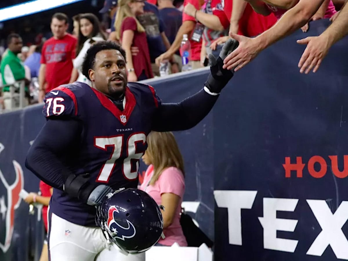 Houston Texans Duane Brown, October 2017