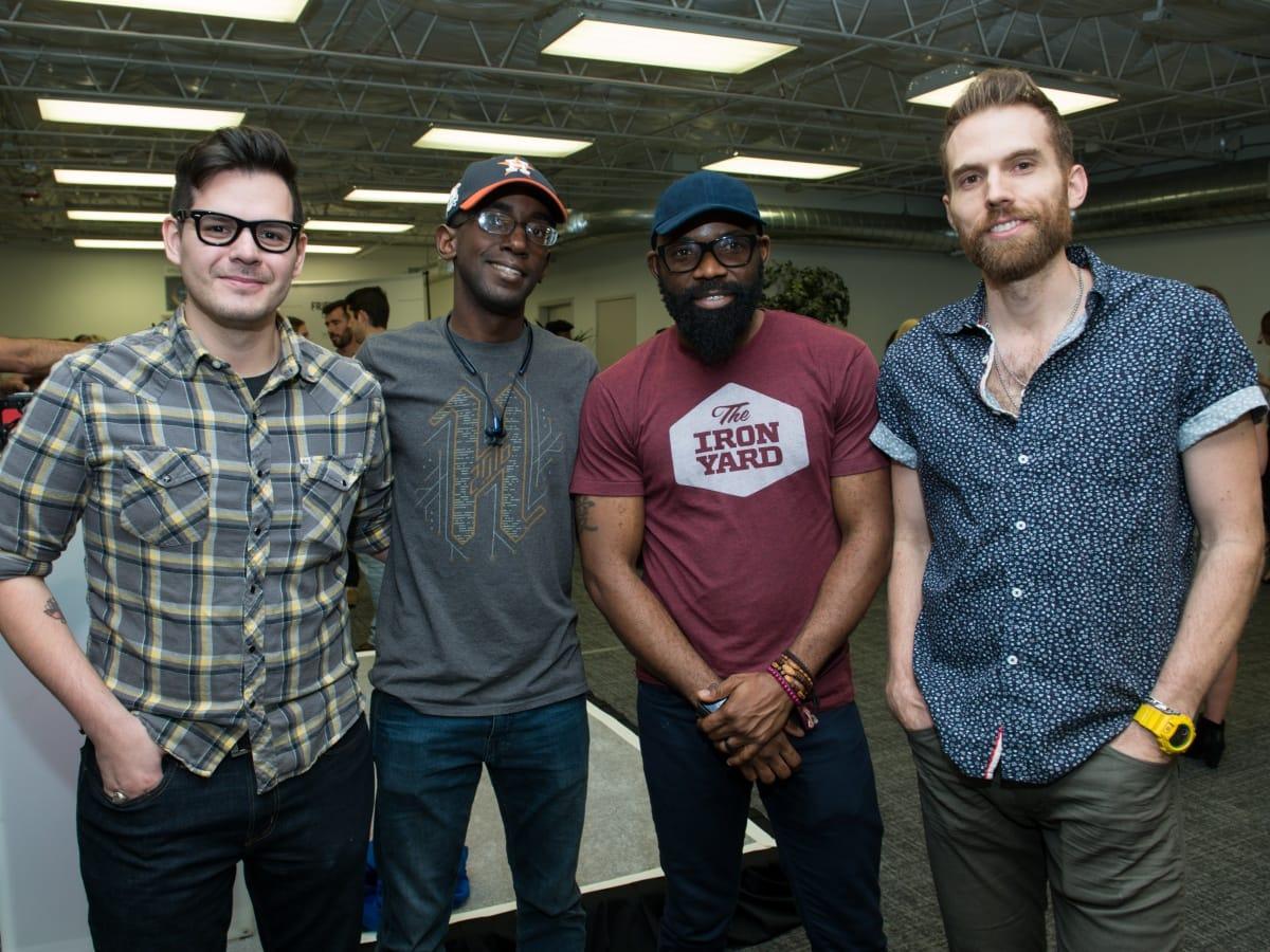 Houston, Founders Fest, November 2017, Nico Mesa, Joshua Long, Reme Ekoh, Adam Bergen